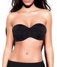 Holly Balconett bikini felső, fekete